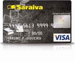 6da01cd8a Cartão Saraiva Visa sem anuidade - Como solicitar? - Cartão a Crédito