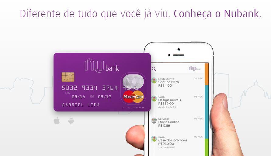 Como Solicitar Um Convite Do Cartão Nubank Mastercard Cartão A Crédito