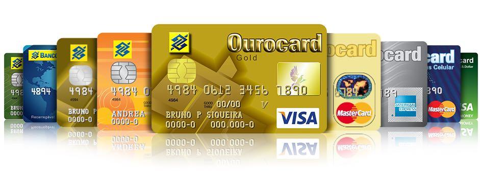 Resultado de imagem para cartões de credito ourocard