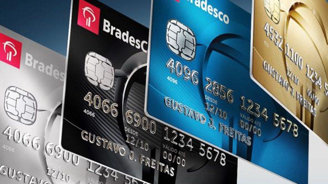 Resultado de imagem para cartoes de credito bradesco