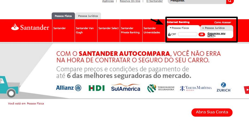 Artesanato Indigena Comprar ~ Cart u00e3o Santander MasterCard ou Visa u2013 2 u00aa via e fatura