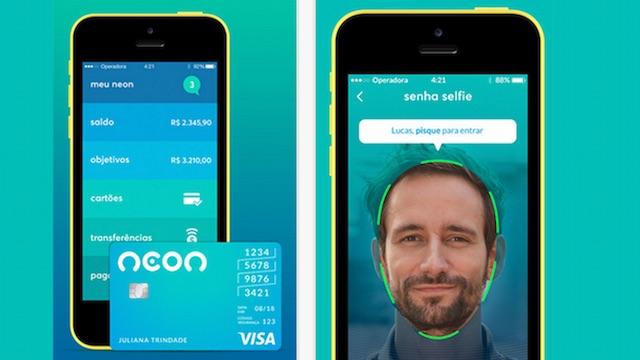 Banco Neon emite cartão internacional de débito e cartão virtual pré-pago para compras pela internet e em apps. (divulgação)
