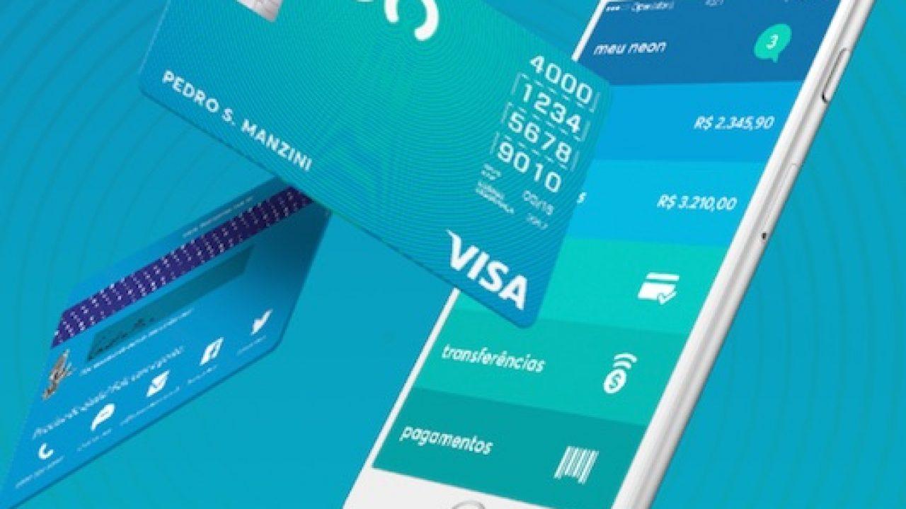 Como funciona o cartão Visa do Banco Neon - Cartão a Crédito