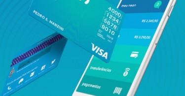 Cartão VISA do Banco Neon é 100% gerenciado pelo aplicativo (divulgação)