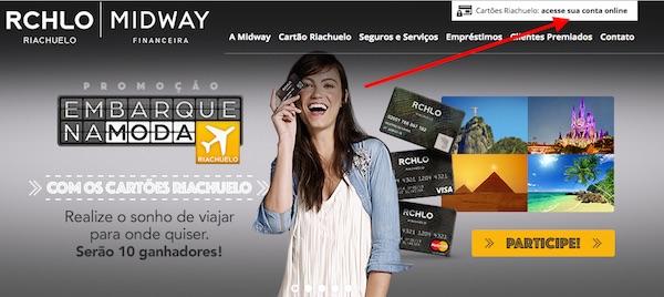 f93096215 Fatura do Cartão Riachuelo – 2ª via pela internet - Cartão a Crédito