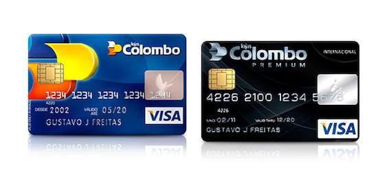 Resultado de imagem para colombo lojas cartão de credito