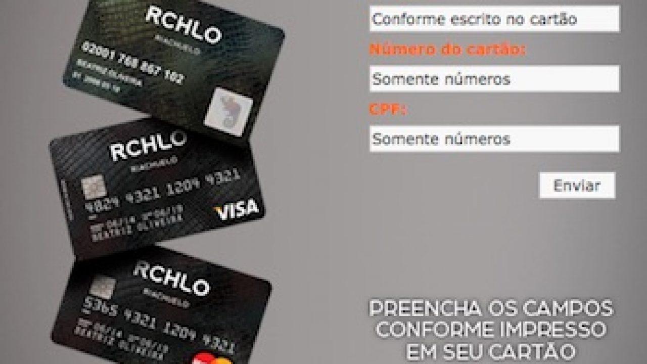 Cartão riachuelo fatura online
