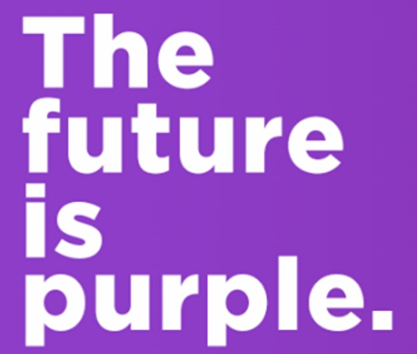 The future is purple