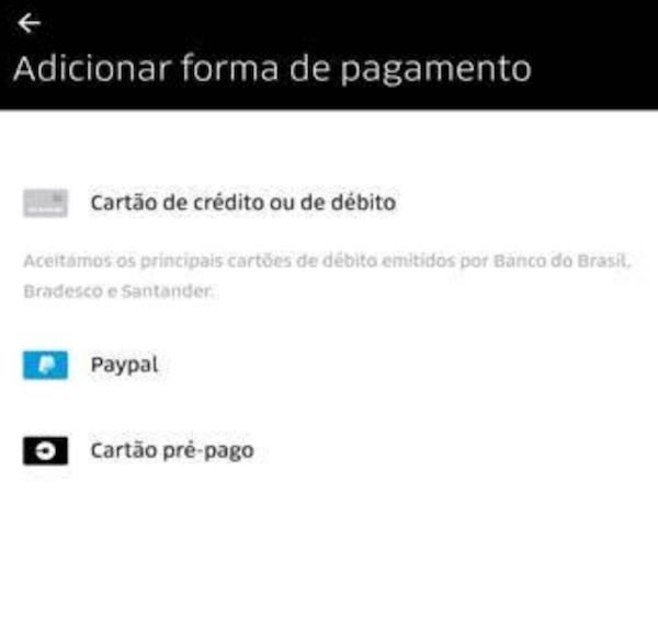 Uber Come A A Aceitar Pagamentos Com Cart O De D Bito No Brasil Cart O A Cr Dito