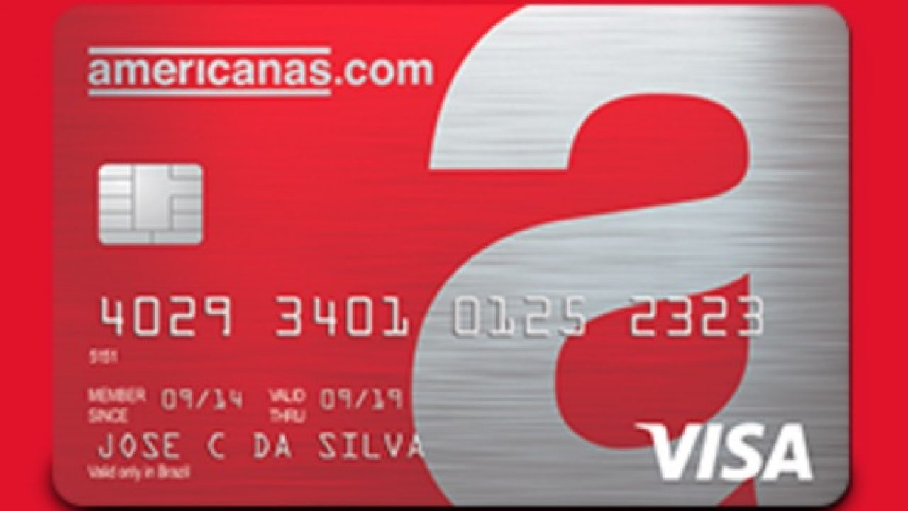 Novo Cartao De Credito Americanas Visa Emitido Pela Cetelem