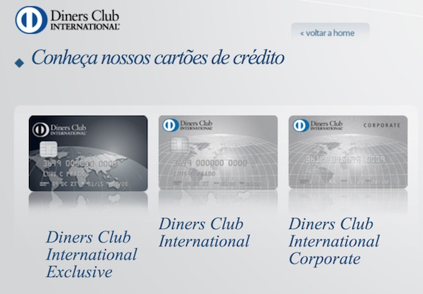 Diners Suspenso no Brasil
