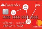 Novo Santander Free MasterCard