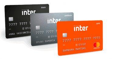 Cartões do Banco Inter