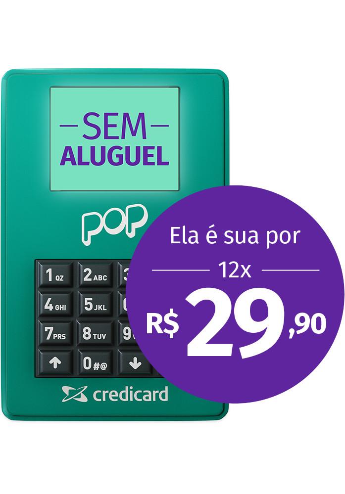 Maquininha POP Credicard