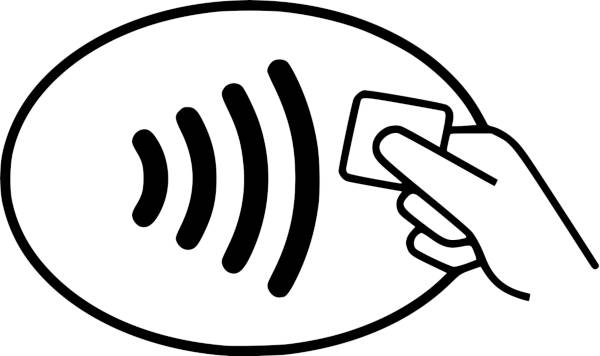 Simbolo Contactless
