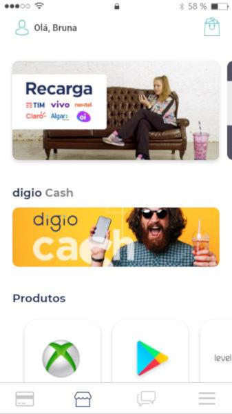 Digio Store e Cash