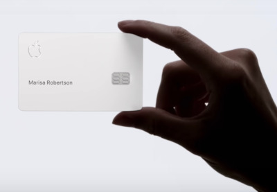 Apple Card em metal