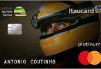 Itaucard Platinum Ayrton Senna MasterCard