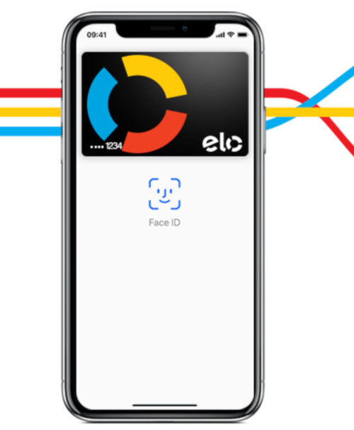 Apple Pay com bandeira ELO