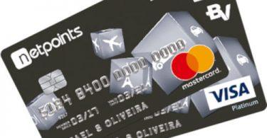Cartão Platinum Netpoints MasterCard e Visa