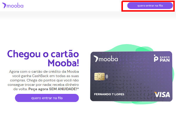 Mooba convite online