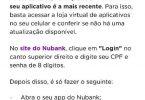 Nubank autenticação por QR Code