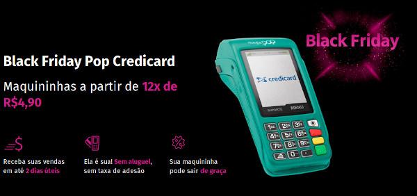 Maquininha Grátis Credicard