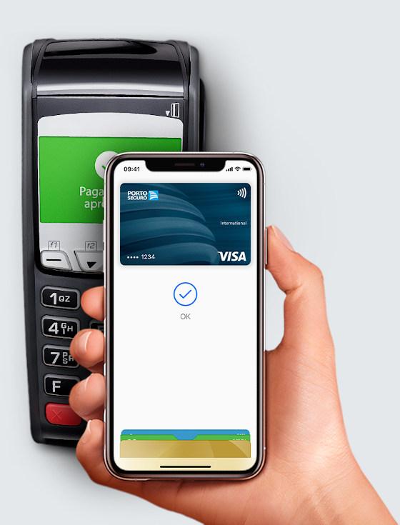 Porto Seguro Cartões funcionando no Apple Pay