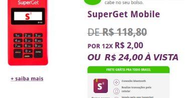 SuperGet leitor mais barato