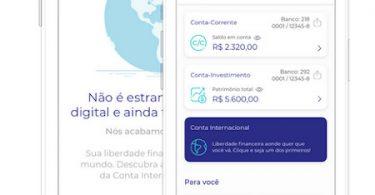APP Conta Internacional Banco BS2