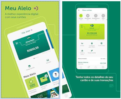 App Meu Alelo, recarga de celular