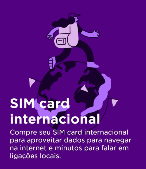 Nubank chip internacional