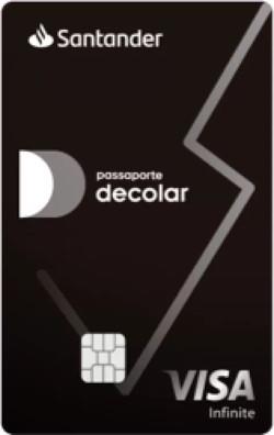Cartão Decolar Visa Infinite Preto