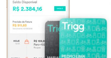 Cartão Trigg Visa e Aplicativo