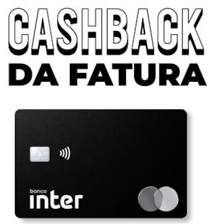 MasterCard Black do Banco Inter com Cashback