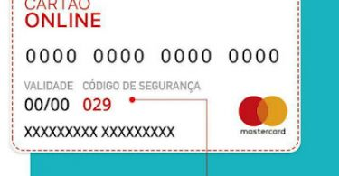 Código de Segurança dinâmico no cartão virtual Santander