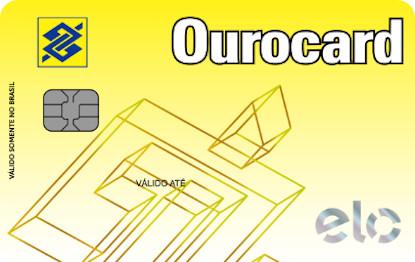 Cartão de Crédito Ourocard Elo Amarelo