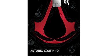 Cartão Assassin's Creed Credicard - edição limitada
