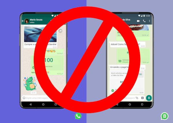 Pagamentos pelo WhatsApp proibidos no Brasil