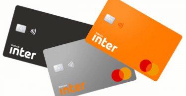 Família de cartões do Banco Inter