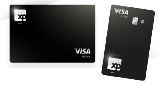 Cartão XP Visa Infinite Black Piano