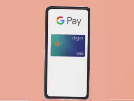 Digio Visa no Google Pay