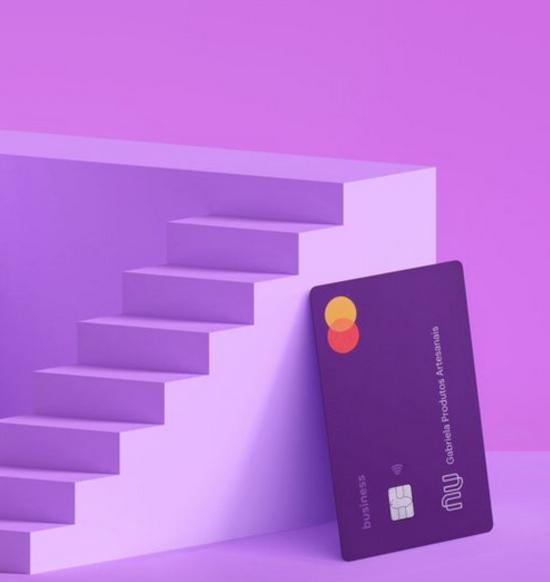 Cartão Nubank Business para Empresas - Roxo escuro