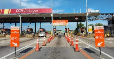 CCR ViaLagos faixa exclusiva para pagamentos por aproximação