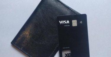 Cartão XP Visa Infinite