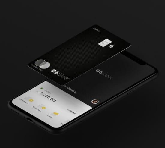 Carbon Mastercard Black C6 Bank
