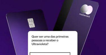 Tela de convite Cartão Nubank Ultravioleta